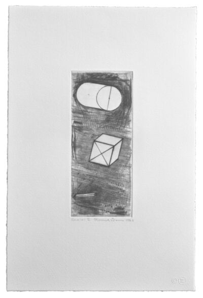 Ronald Davis, 'Drypoint Gamma', 1981