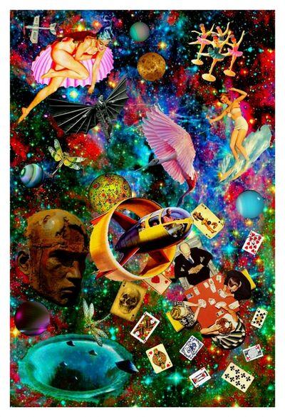 Robert Fleischman, 'Card Game'