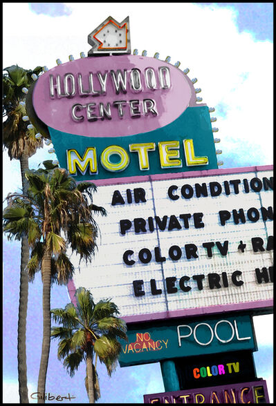 Michael Giliberti, 'Hollywood Center Motel', 2019