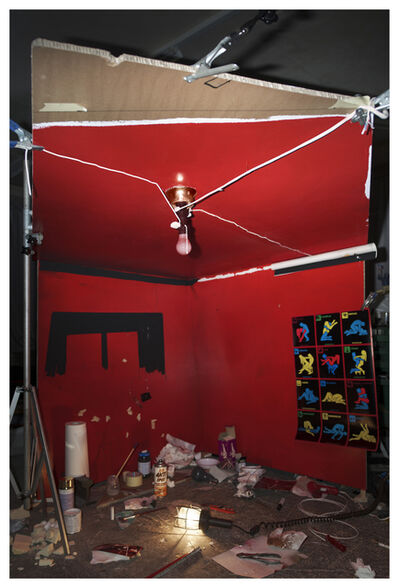 "Cortis & Sonderegger, 'Making of ""The Red Ceiling"" (By William Eggleston 1973)', 2016"