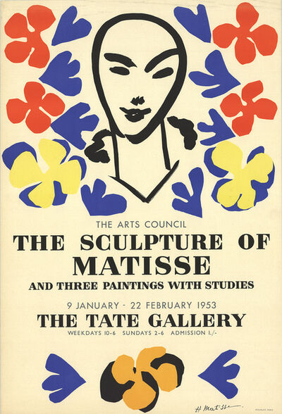 Henri Matisse, 'The Sculpture of Matisse', 1953