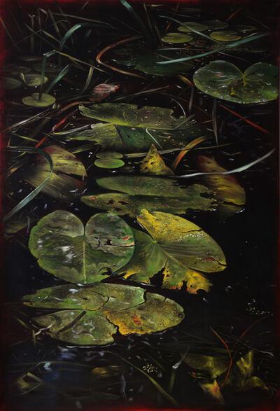 Helena Parada-Kim, 'Pond lilies (right panel)', 2018