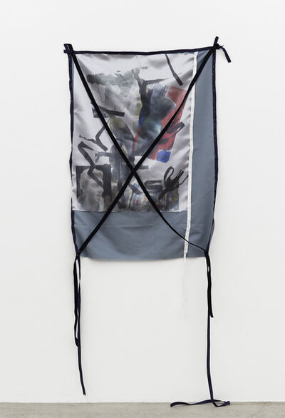 Yorgos Sapountzis, 'Lost Timeline - openmouthobjectmarbleeggplantherbronzered2whitefabriks', 2014