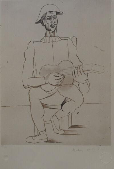 Pablo Picasso, 'Alrequin Moustachu a la Guitare', 1979-1982