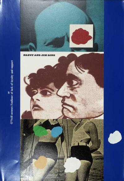 R. B. Kitaj, 'Nancy and Jim Dine', 1970