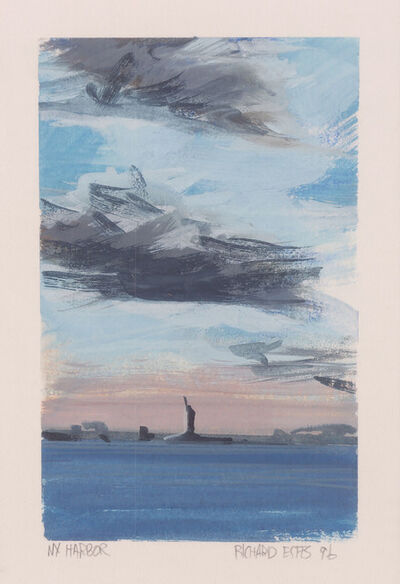 Richard Estes, 'New York Harbor (Statue of Liberty)', 1996