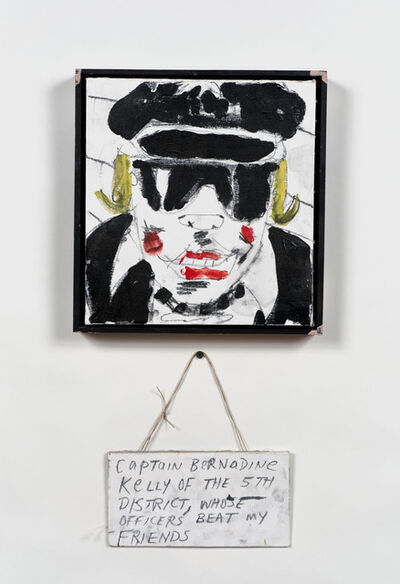 Skylar Fein, 'Captain Bernadine Kelley of the Fifth District, Whose Officers Beat My Friends', 2011