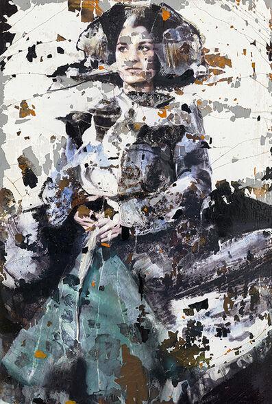 Lita Cabellut, 'Te recuerdo como ayer', 2020