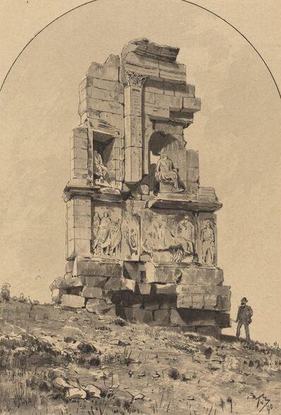 Themistocles von Eckenbrecher, 'Monument of Philopappos', 1890