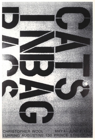 Christopher Wool, 'May 4 – June 8, 1991', 1991