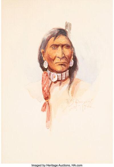 Edgar Samuel Paxson, 'Nez Perce', 1917