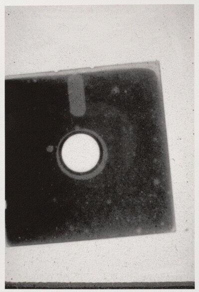 Brian Gaman, 'Untitled (floppy computer disk scan)', Unknown