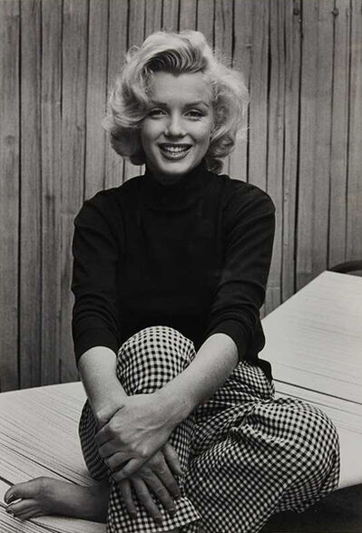 Alfred Eisenstaedt, 'Marilyn Monroe (Wearing Checkered Pants)', 1953