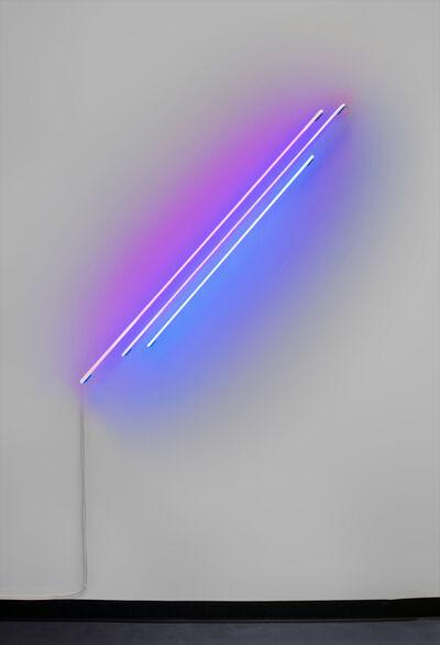 Anne-Katrine Senstad, 'Ascension / Descension Graph 03 Neon (Red + Blue)', 2020