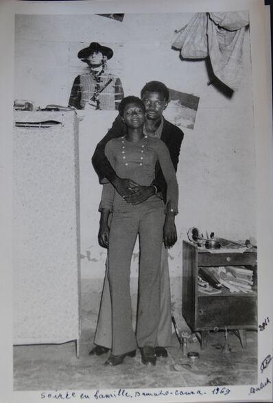 Malick Sidibé, 'Soirée en famille Bamako Coura', 1969