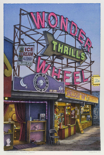 Frederick Brosen, 'Jones Walk, Coney Island', 2019