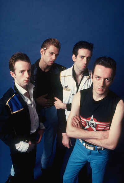 Allan Tannenbaum, 'The Clash, Studio', 1980