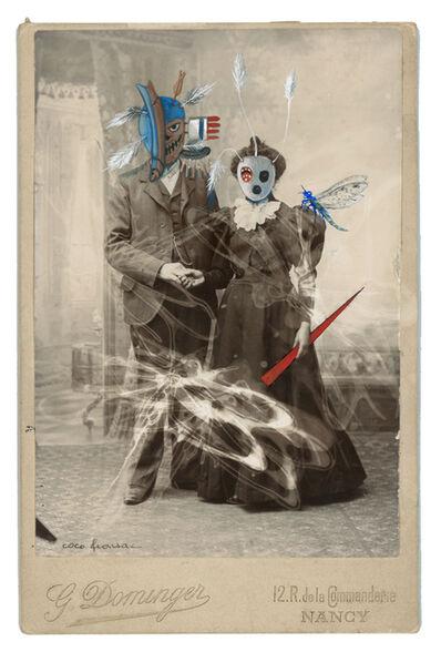Coco Fronsac, 'Les Yup'ik et la libellule Mr et Mme Dominger, de la série Chimères et Merveilles', 2008