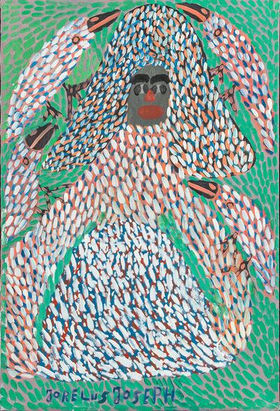 Jorélus Joseph, 'The Lady with the Birds'