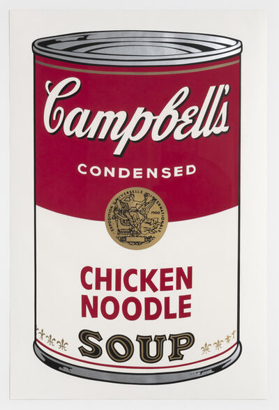 Andy Warhol, 'Chicken Noodle, from Campbell's Soup I', 1968