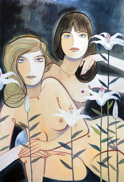 Louis Thomas, 'Léa & Salomé', 2019