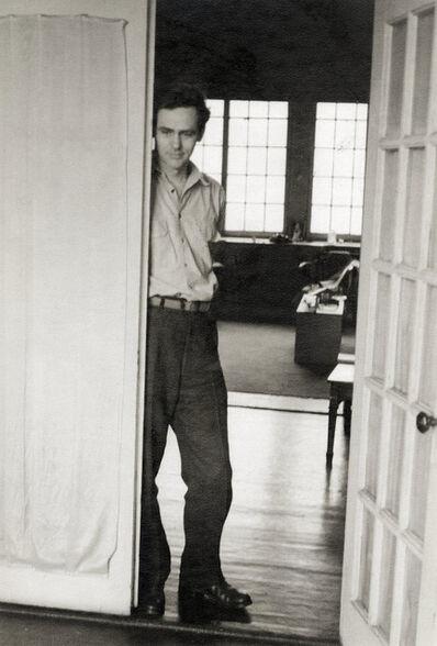 Helen Levitt, 'James Agee, Bleecker Street apartment', 1945
