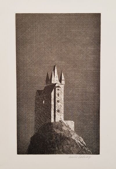 David Hockney, 'The Haunted Castle', 1969
