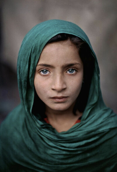 Steve McCurry, 'Girl with Green Shawl, Peshawar, Pakistan', 2002