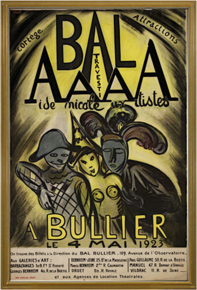 Achille Emile Othon Friesz, 'Bal AAAA Bullier', 1923