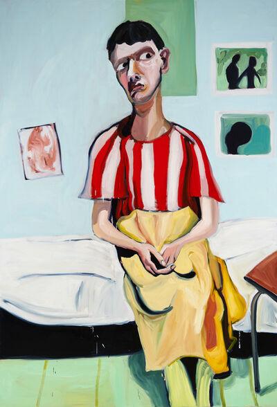 Jenni Hiltunen, 'Woman Sitting on Bed', 2020