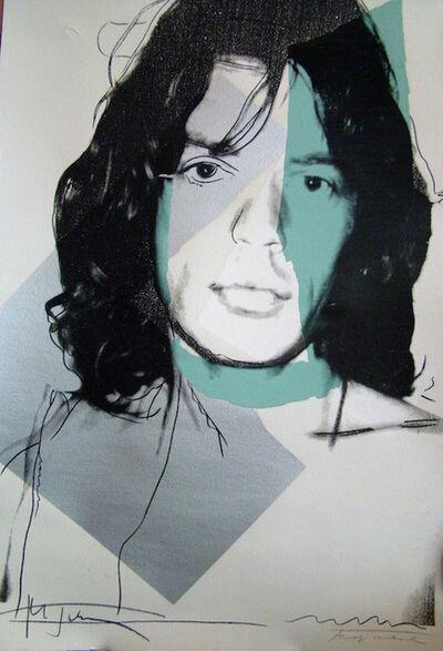 Andy Warhol, 'Mick Jagger (FS II.138) ', 1975