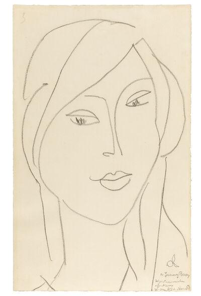 Henri Matisse, 'Portrait of Janie Bussy', 1949