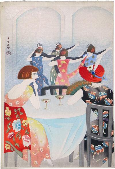 Yamamura Kōka, 'Dancing at the New Carlton Café in Shanghai', 1924