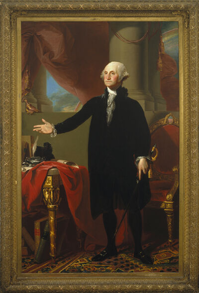 Gilbert Stuart, 'George Washington', 1796