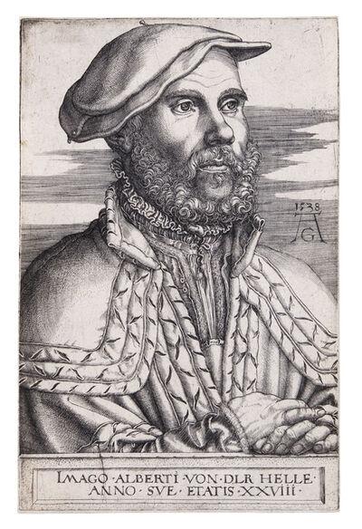 Heinrich Aldegrever, 'Albert van der Helle', 1538