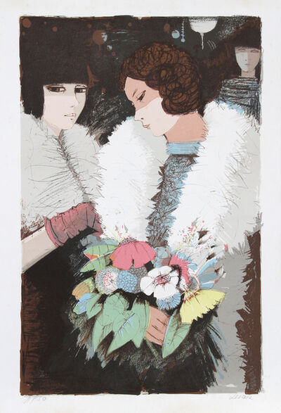 Charles Levier, 'Woman with Bouquet 2', circa 1977