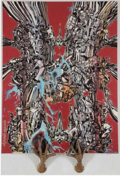Jitish Kallat, 'Skinside Outside', 2009