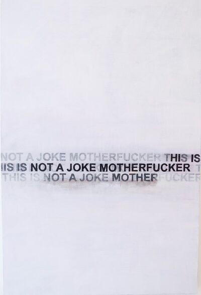 Nick Lamia, 'No Joke'