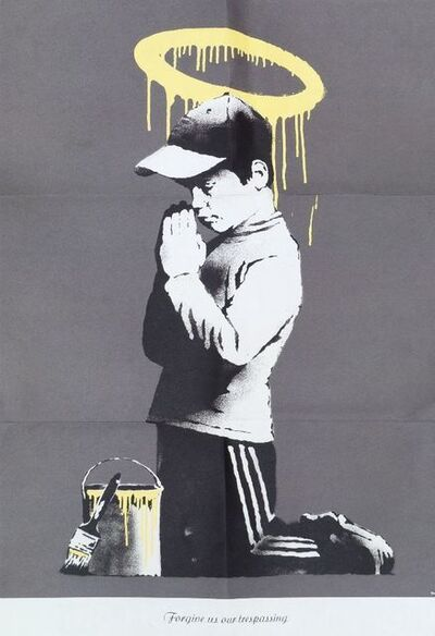 Banksy, 'Forgive Us Our Trespassing''', 2010