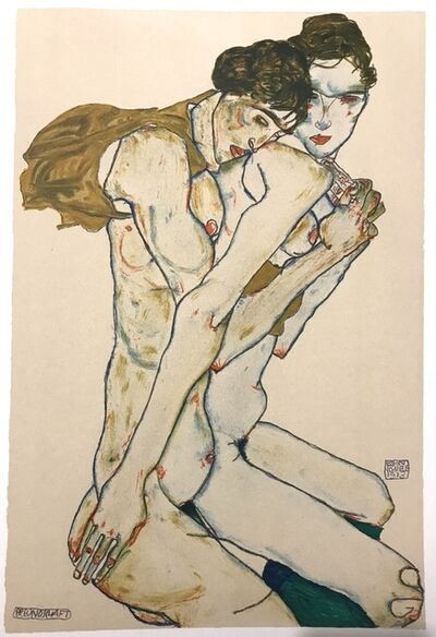 Egon Schiele, 'Friendship', 2007