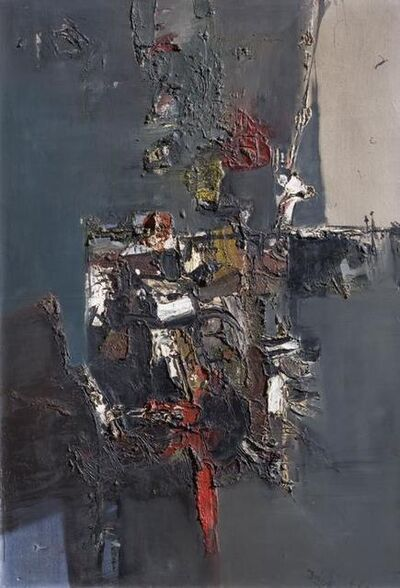 Lino Dinetto, 'Abstracto', 1961