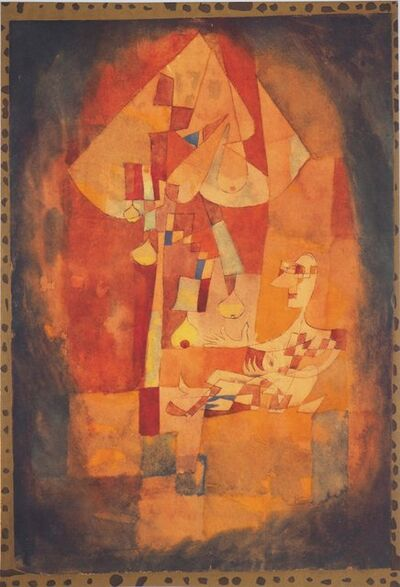 Paul Klee, 'Man and the Pear Tree', 1964