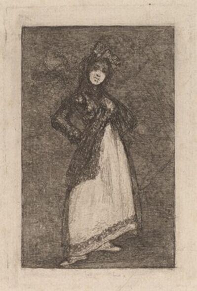 Francisco de Goya, 'Maja', 1824/1828