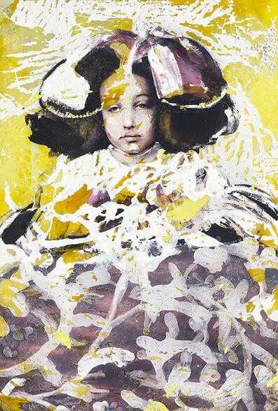 Lita Cabellut, 'Recuerdo amarillos', 2020