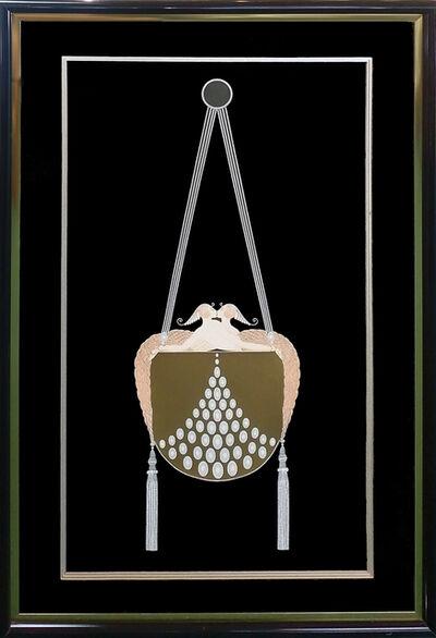 Erté (Romain de Tirtoff), 'THE CLASP', 1983