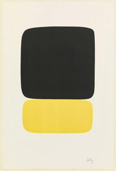 Ellsworth Kelly, 'Black over Yellow (Noir sur jaune)', 1964