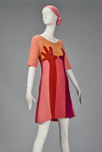 "Birgitta Bjerke (100% Birgitta), '""Hands"" dress ', ca. 1967"
