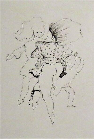 Leonor Fini, 'Les petites filles modèles IV', 1973