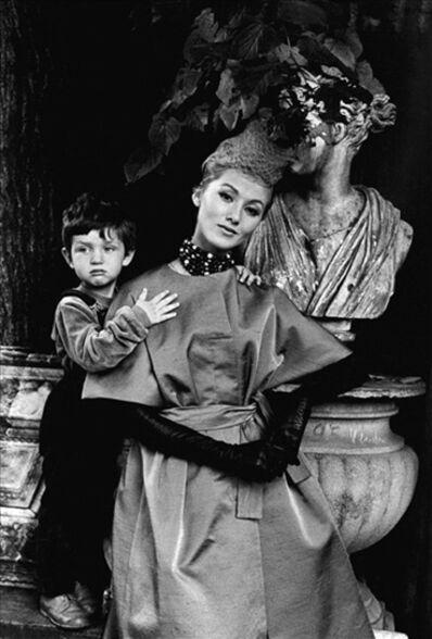 Frank Horvat, 'Monique and Michel, Jardin des Modes', 1958