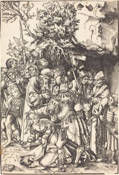 Lucas Cranach the Elder, 'The Martyrdom of Saint Barbara'